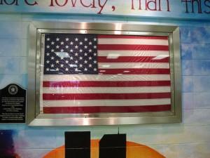 SS Flag frame